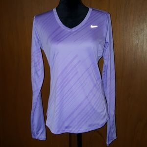 Nike Running Dri-fit long sleeve with thumb holes